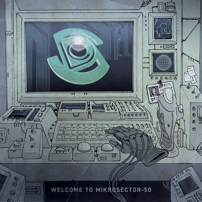 Premiere: stream Space Dimension Controller's four-track <i>Welcome to Mikrosector-50</i> EP in full
