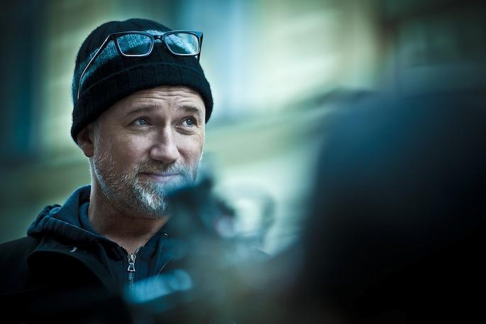 David Fincher directing Justin Timberlake's 'Suit & Tie' video