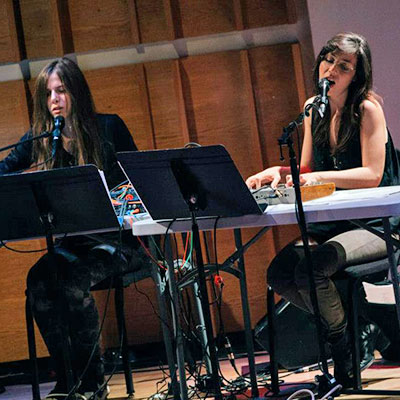 Stream Julia Holter, Laurel Halo and Daniel Wohl's recent performance at New York's Merkin Concert Hall