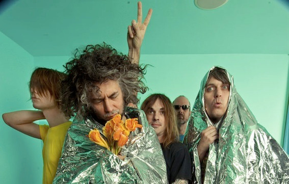 Stream a medley of material from The Flaming Lips' new album The Terror, complete with barmy notes from Wayne Coyne