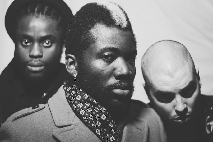 Premiere: Edinburgh trio Young Fathers share eerie video for 'I Heard'