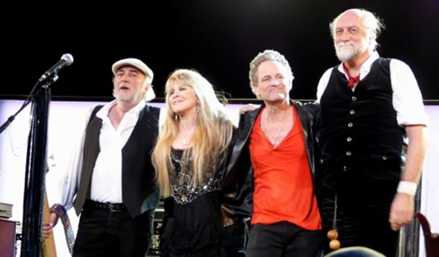 Fleetwood Mac announce new EP; watch them perform new song 'Sad Angel'