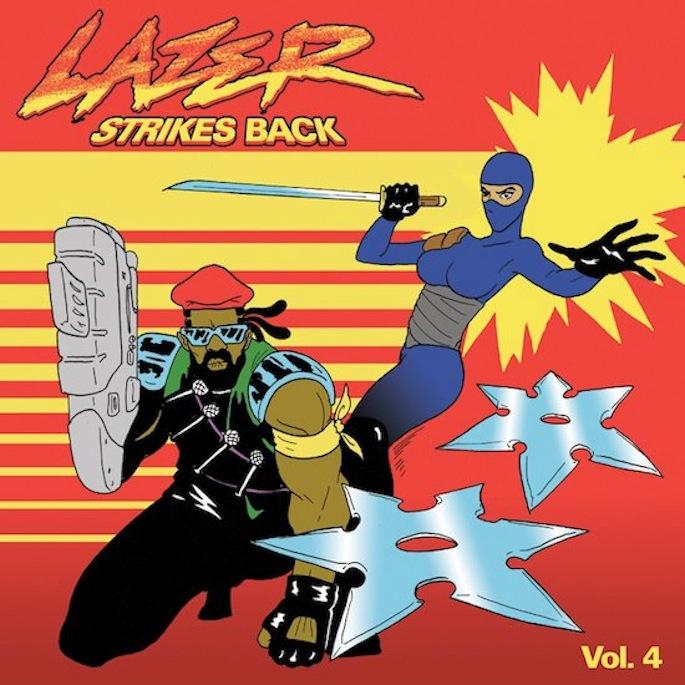 Download Major Lazer's fourth <em>Lazer Strikes Back</em> EP