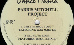 Parris Mitchell to kick off Dance Mania relaunch with Project 12″ reissue
