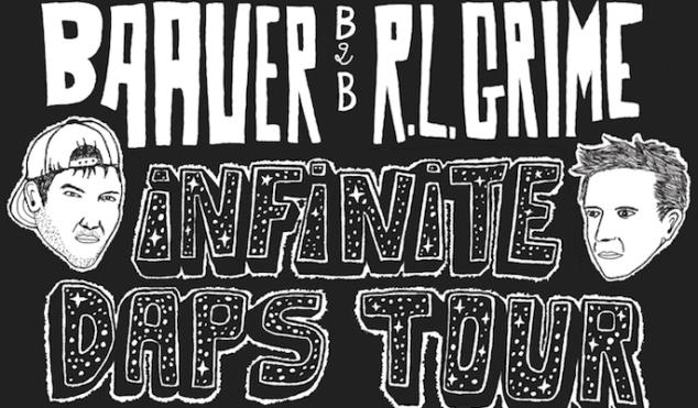 Baauer, RL Grime, Ryan Hemsworth, and Jim E-Stack announce Infinite Daps tour