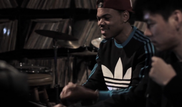 Watch Chance the Rapper and Nosaj Thing record Acid Rap standout 'Paranoia'