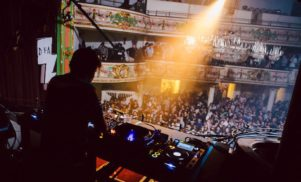 James Murphy designing actual soundsystem; listen to his DJ set from DFA's anniversary party