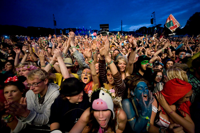 Piracy and the downturn: Are Britain's music festivals are becoming unaffordable, corporate and middle-aged?
