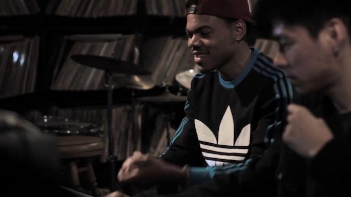 Watch Chance the Rapper and Nosaj Thing record <em>Acid Rap</em>'s 'Paranoia'
