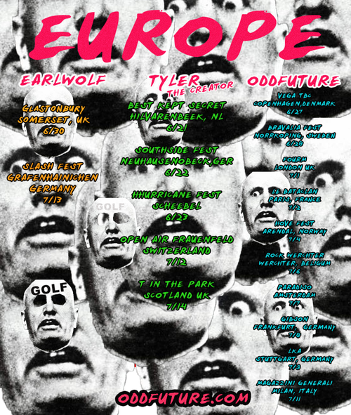 992351789df8 Odd Future announces European tour dates  subgroup Jet Age of ...