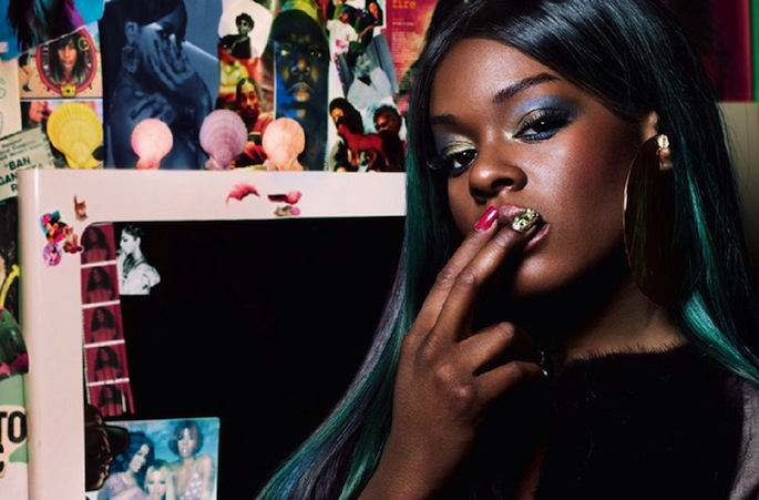 Azealia Banks Shares Fist Pumping Collaboration With Paul