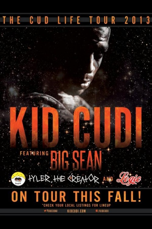 Kid Cudi announces US tour with Tyler, The Creator, Big Sean