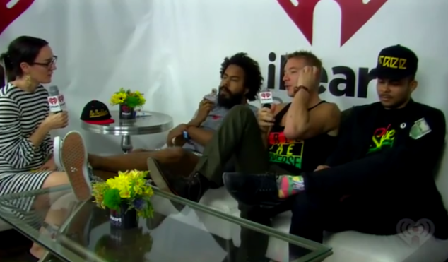 Is Major Lazer's Lollapalooza interview the most awkward of all time?