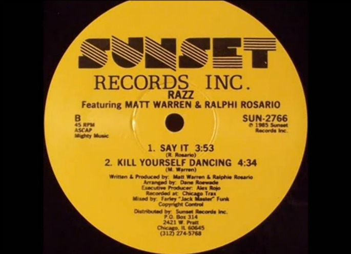 Watch a mini-documentary about seminal Chicago house label Sunset Records