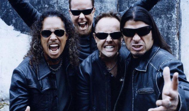 Metallica playing concert in Antarctica