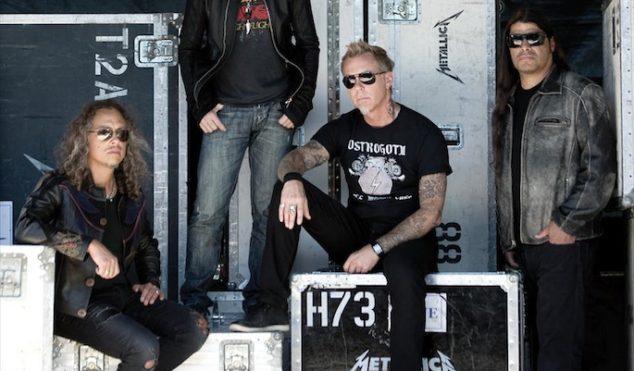 Metallica want to headline Glastonbury, says Lars Ulrich