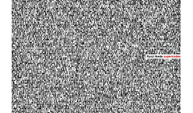 Japanese sound artist Ryoji Ikeda completes LP trilogy for Raster-Noton with Supercodex