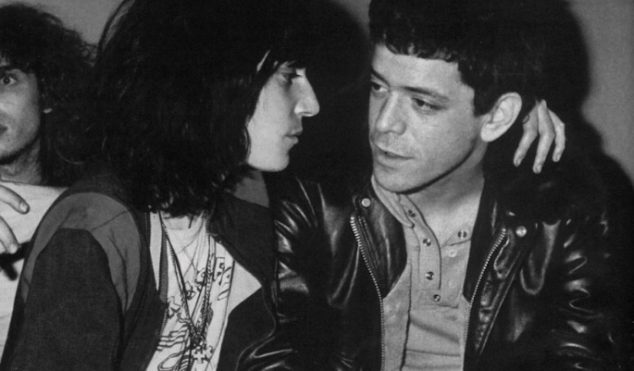 "Patti Smith and David Byrne pay tribute to Lou Reed, ""a very special poet"""