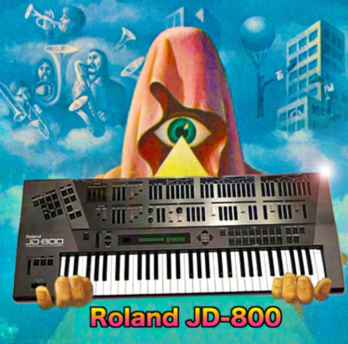 """Legowelt gives away Roland JD-800 sampler pack to """"let the creative juices drip"""""""