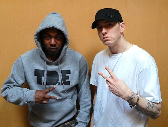 Kendrick Lamar joins Eminem on the regrettable 'Love Game'