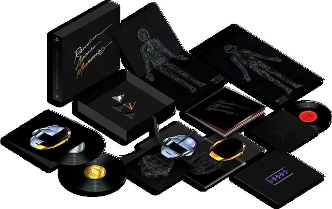 Daft Punk reveal <em>Random Access Memories</em> deluxe box set edition