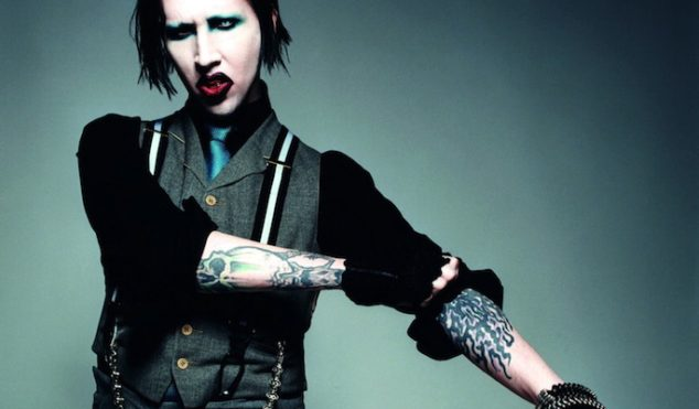 The beautiful people: check out Marilyn Manson's makeup-less Eastbound & Down cameo