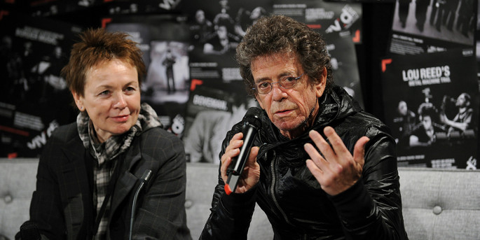 Laurie Anderson writes powerful essay commemorating Lou Reed