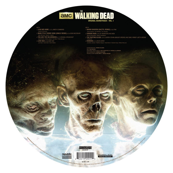 Breaking Bad Walking Dead Soundtracks To See Vinyl