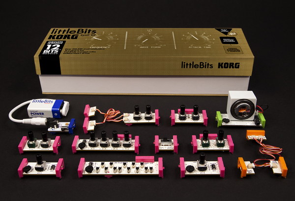 Lego meets modular synthesis? Check out littleBits and Korg's brilliant new synthesiser kit