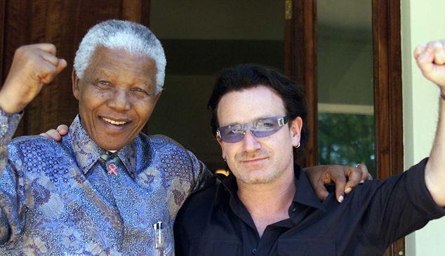 """""""Mandela lived a life without sanctimony"""": Bono's tribute to Nelson Mandela"""