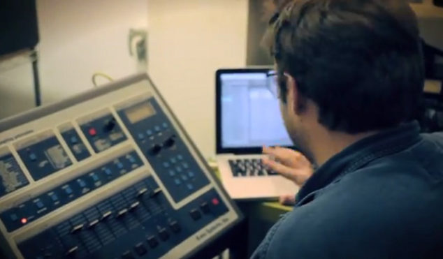 Go inside Brooklyn record store The Thing and watch Willie Burns make a track on the E-mu SP12 Turbo