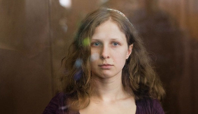 Pussy Riot's Maria Alyokhina released early from jail