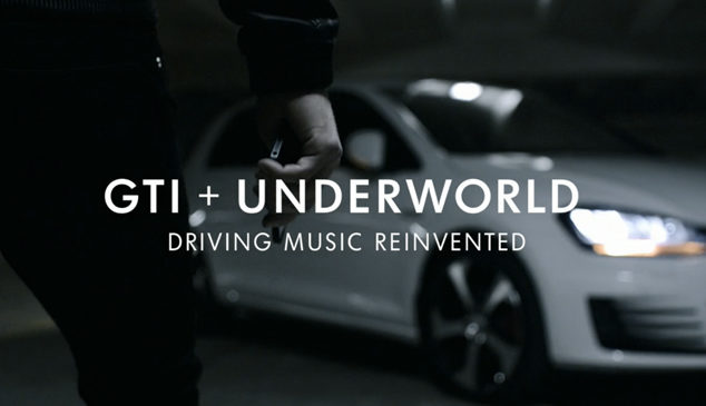 Compose music while driving with Underworld and Volkswagen's Play the Road