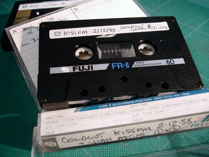 CC meets Juan Atkins tapes