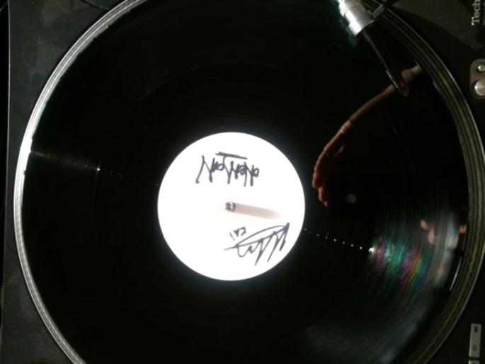 Bid for one of three vinyl copies of Oneman's remix of Mount Kimbie's 'You Took Your Time'