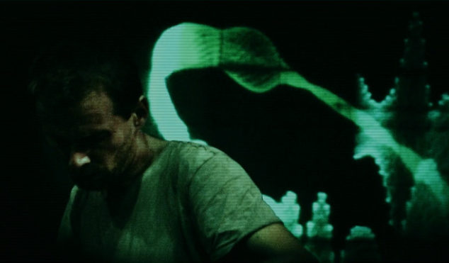Premiere: watch Clark's video for 'Superscope', produced by Vincent Oliver with an oscilloscope