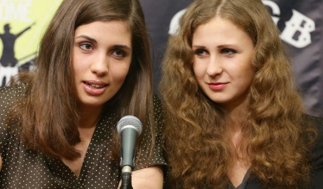 Pussy Riot pair arrested, released in Sochi