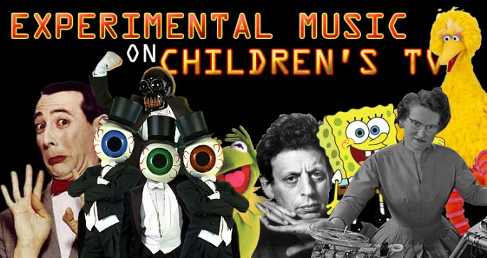 Philip Glass on Sesame Street? Experimental music and children's TV crossover moments compiled