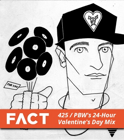 FACT mix 425: Peanut Butter Wolf's 24-Hour Valentine's Day Mix