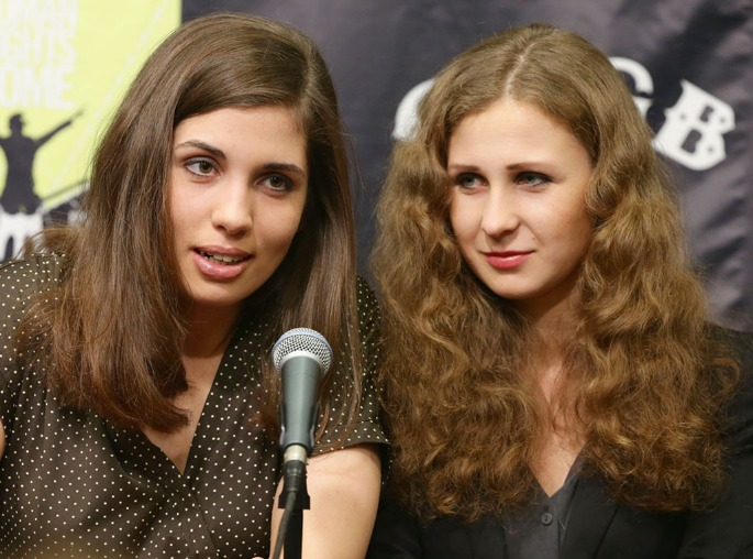 Pussy Riot pair arrested in Sochi