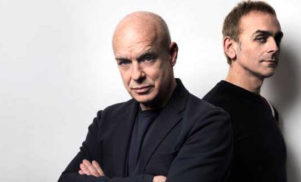 Hear Brian Eno and Karl Hyde's chirpy new track 'The Satellites'