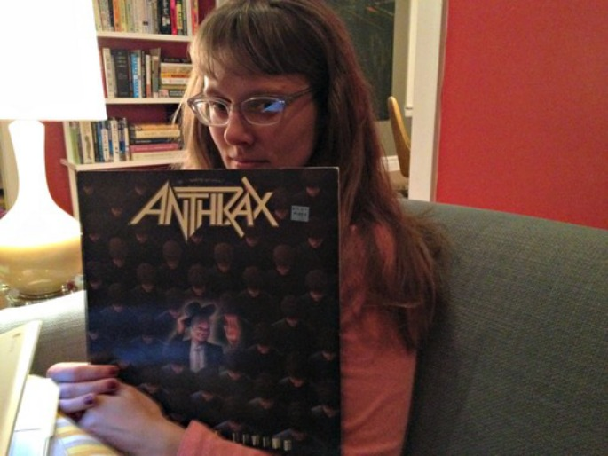 """A librarian rates her husband's """"stupid record collection, one at a time"""" on this ace blog"""