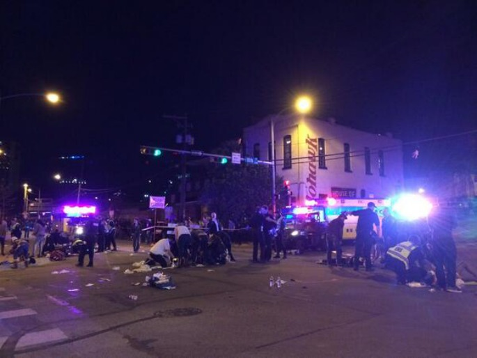 Two dead and 23 injured after car ploughs into crowd at SXSW