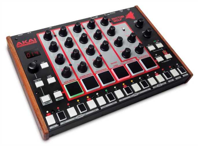 Akai unveils Rhythm Wolf drum machine and bass synth plus revamped APC40 controller