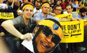 """""""Based God's curse"""" continues as basketball fans taunt Kevin Durant with Lil B mascot"""