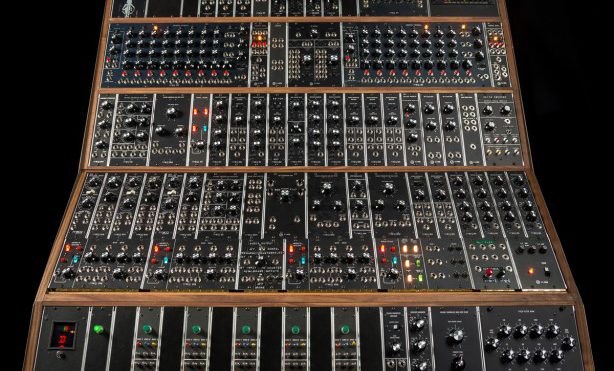 Moog recreates pioneering Emerson Moog Modular System on 50th anniversary of the first voltage controlled synthesizer