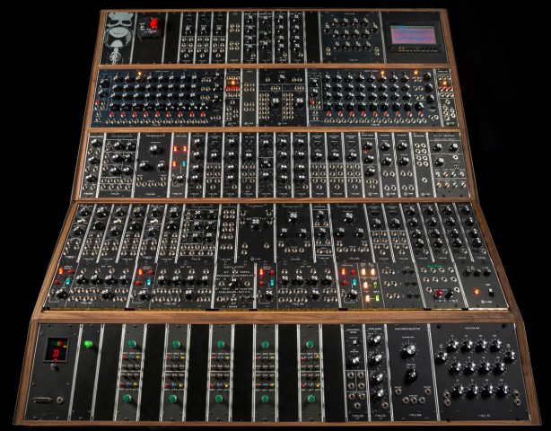 moog recreates pioneering emerson moog modular system on 50th anniversary of the first voltage. Black Bedroom Furniture Sets. Home Design Ideas