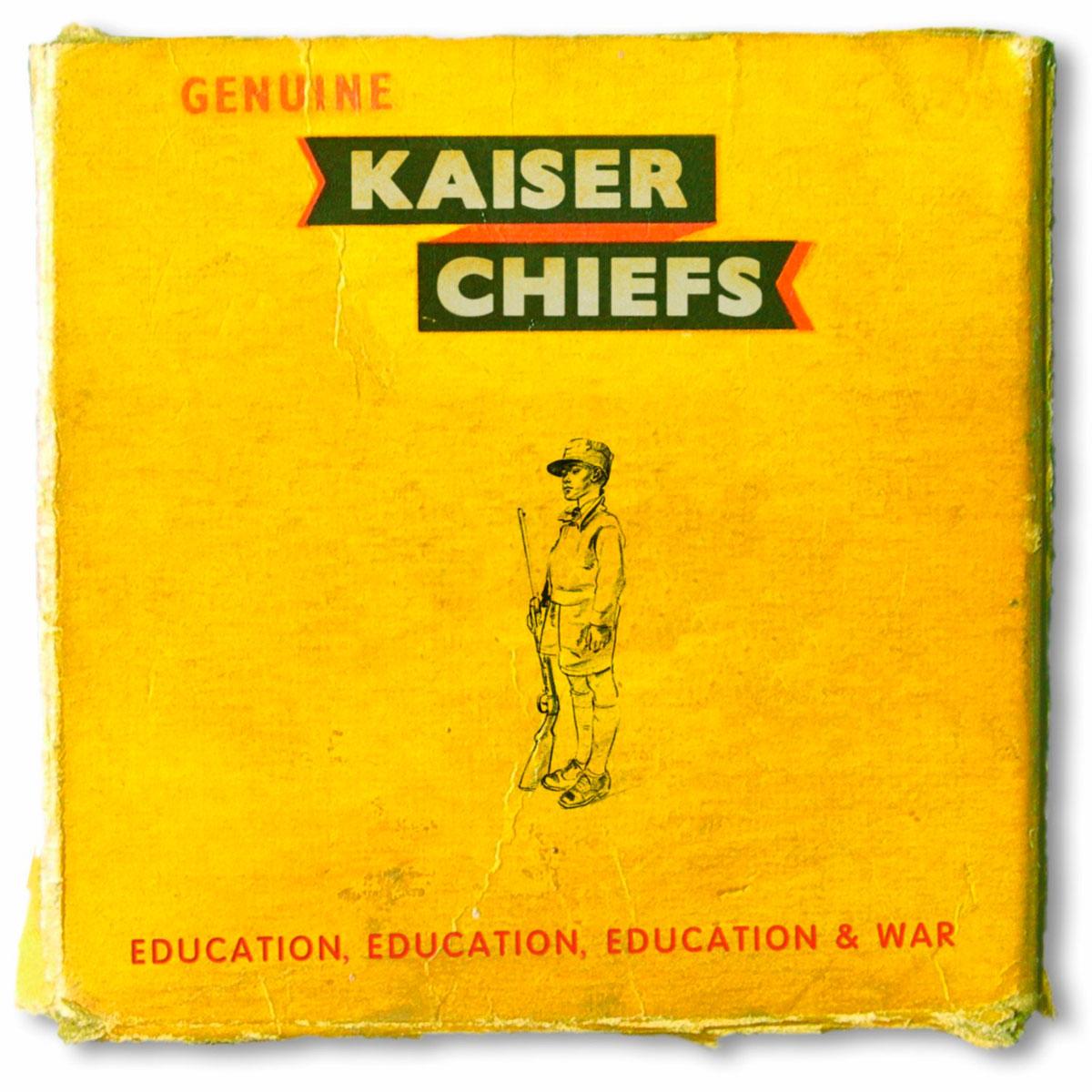 Kaiser Chiefs Education, Education, Education & War review