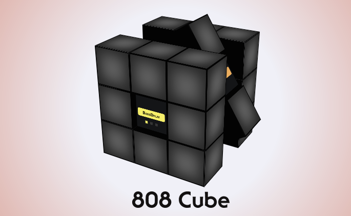 TR-808 meets Rubik's Cube in new app — play it inside