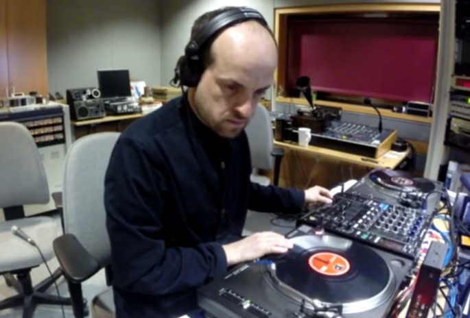 Watch Matthew Herbert mix birdsong, field recordings and static in the British Library's Sound Archive